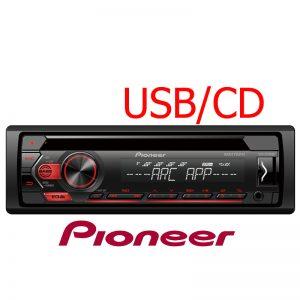 Radio Pioneer Tornamesa para CD DEH-S1250UB